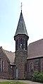 Bell tower of St Matthew's Church, Bromborough Pool 1.jpg