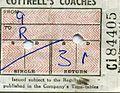 Bellgraphic Bus Ticket, Cottrell's Coaches, Mitcheldean 1970 - Flickr - sludgegulper.jpg