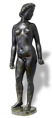 Bemberg Fondation Toulouse - Eve à la pomme (Bronze) 1899 - Aristide Maillol 21x58.jpg