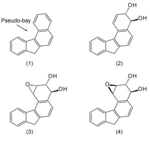 Benzo(c)fluorene - Image: Benzocfluorene metabolism