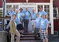 Bergshamra bygdegård, Wikipedianer på fotosafari.jpg
