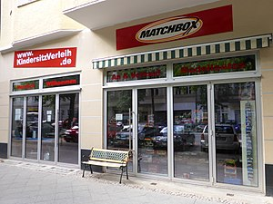 Matchbox (brand) - Speciality store for Matchbox collectibles in Berlin.