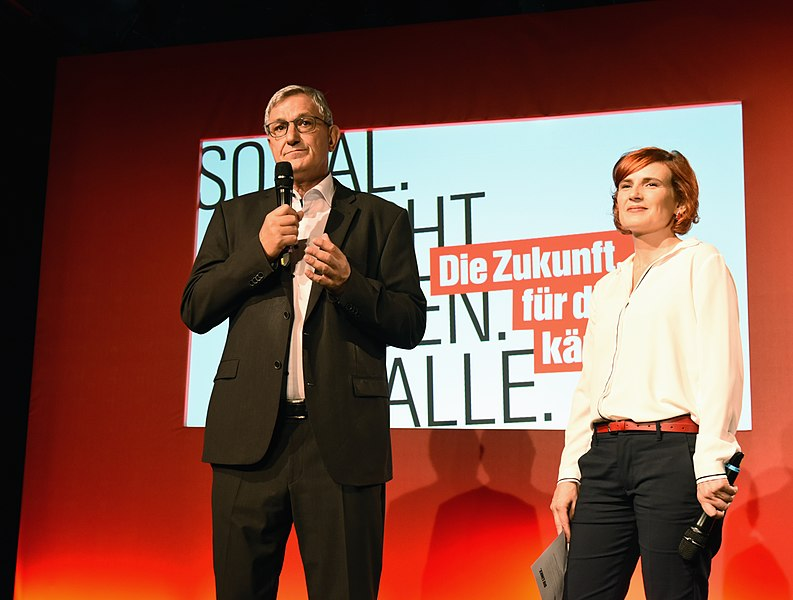 File:Bernd Riexinger und Katja Kipping bei der Bundestagswahl 2017 Wahlabend Die Linke (Martin Rulsch) 58.jpg