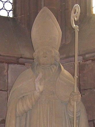 Bernhard Boll - Sculpture of Bernhard Boll by André Friedrich, Freiburg Minster