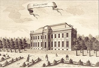 Bernstorff Palace - Bernstorff Palace in the 1760s.