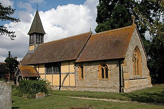 Besford - Image: Besford Church(Philip Halling)Aug 2005