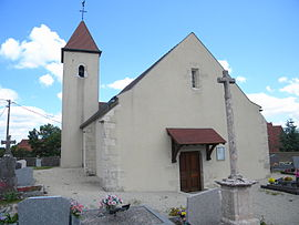 The church in Bessey-en-Chaume