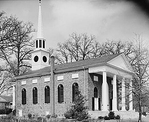 National Register of Historic Places listings in Kershaw County, South Carolina - Image: Bethesda Presbyterian Church (Kershaw County, South Carolina)