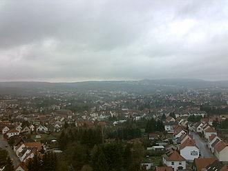 Bexbach - Image: Bexbachaussicht
