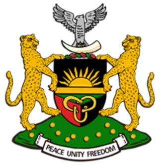 Coats of arms and emblems of Africa - Image: Biafra Coat of Arms