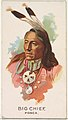 Big Chief, Ponca, from the American Indian Chiefs series (N2) for Allen & Ginter Cigarettes Brands MET DP828006.jpg