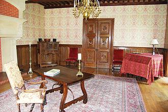 Château de Landreville - Saloon Louis XIII of Landreville Castle