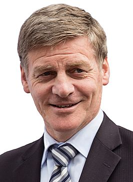 Bill English in 2016