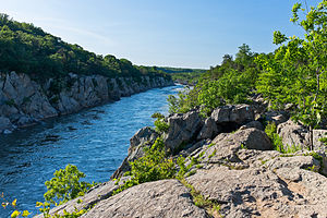 Billy Goat Trail - Image: Billy Goat A Pothole Alley another view
