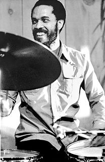 Billy Higgins American jazz drummer