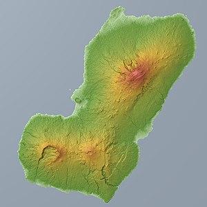 Bioko - Relief Map
