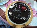 Birthday cake in Rome 02.JPG