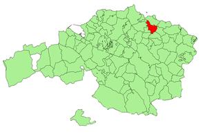 Gautegiz Arteaga - Image: Bizkaia municipalities Gautegiz Arteaga