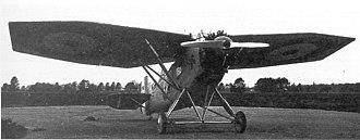 Blackburn Airedale - The second Airedale, with tail and undercarriage modifications