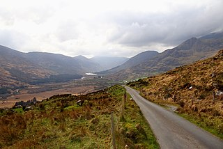 The Black Valley Valley in Kerry, Ireland