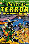 Exemple de comics de la Seconde Guerre mondiale : Black Terror no 10 (mai 1945).