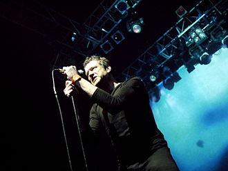 Blancmange (band) - Neil Arthur as Blancmange performing at KOKO in London, 2011