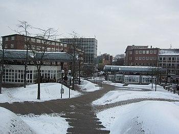 Blick in Richtung Holstenstraße