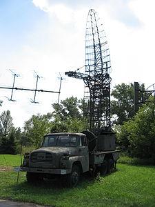 Bożena radiolocation station at the Muzeum Polskiej Techniki Wojskowej in Warsaw (3).JPG