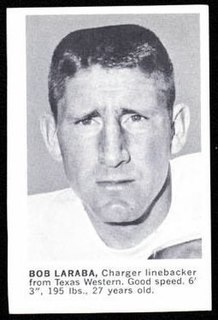 Bob Laraba Player of American football