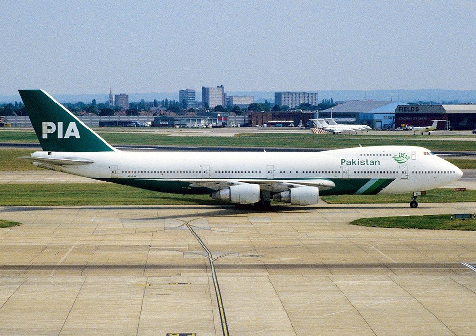 Boeing 747-240BM, Pakistan International Airlines - PIA AN1094848