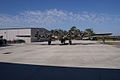 Boeing B-17G-85-DL Flying Fortress Nine-O-Nine Landing Taxi 47 CFatKAM 09Feb2011 (14797249730).jpg