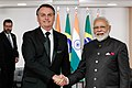 Bolsonaro with Modi November 2019.jpg