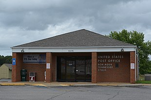 U.S. Post office in Bon Aqua.
