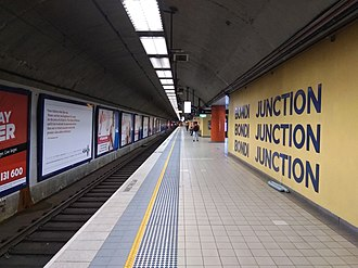 Bondi Junction railway station - Image: Bondi Junction railway station 20180603