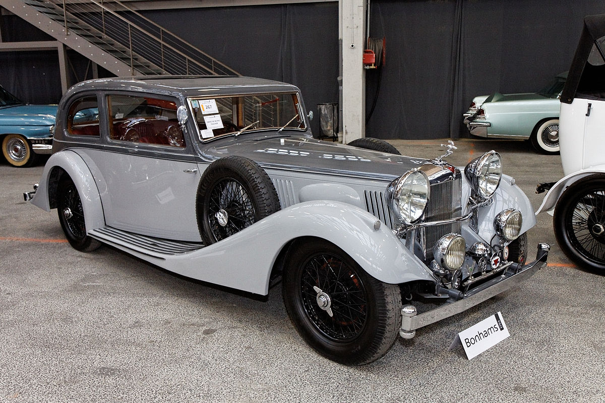 Luxury Sports Cars >> Alvis Speed 25 - Wikipedia