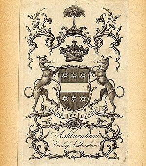 Bertram Ashburnham, 4th Earl of Ashburnham - The Ashburnham Library bookplate