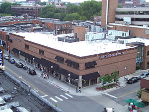 Borders Group - Downtown Ann Arbor, Michigan, USA, 2005, at the time Borders' flagship store