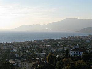 Panorama di Bordighera