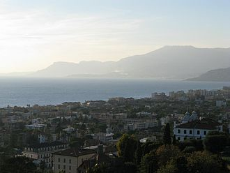 Bordighera - Panorama of Bordighera