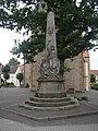 Borgholzhausen ev Kirche Gefallenendenkmal.jpg