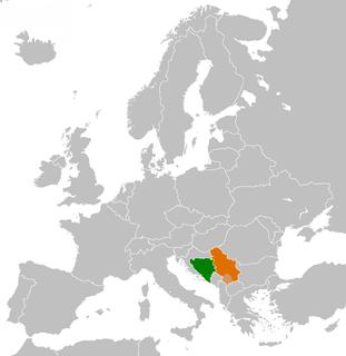 Bosnia and Herzegovina–Serbia relations Diplomatic relations between Bosnia and Herzegovina and the Republic of Serbia