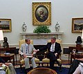 Bosnia meeting with President Clinton, Secretary of State Warren Christopher and others in the Oval Office - Flickr - The Central Intelligence Agency.jpg