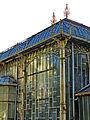 Botanička bašta Jevremovac, Beograd - detalj fasade staklene bašte 01.jpg