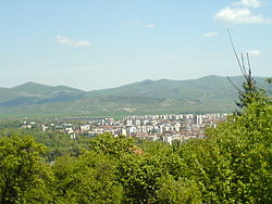 Skyline of Botevgrad