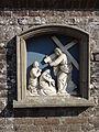 Boxmeer - Rooms Katholieke begraafplaats aan de Begijnestraat - Kruiswegstatie - Statie 8.jpg