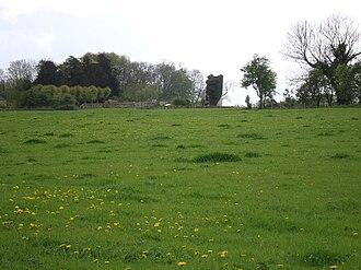 Bradenstoke Priory - Bradenstoke Priory and demesne