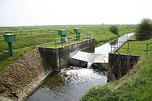 Stream gauge - Image: Brant Broughton Gauging Station geograph.org.uk 166904