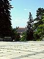 Bratislava, Staré Mesto, Slavín, pohled na Hrad.jpg