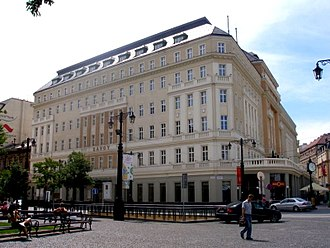 Lodging - Hotel Carlton in Bratislava, Slovakia.