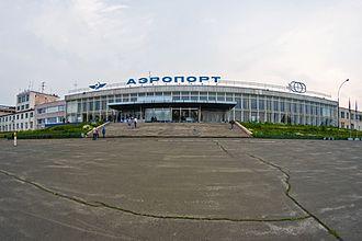 Bratsk Airport - Image: Bratsk Airport (1)